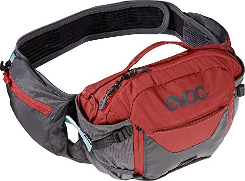 evoc HIP Pack PRO 3l Hüfttasche, Carbon Grey/Chili Red, one Size
