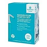 DERMASEL NASENDUSCHE STARTER-SET mit Totes Meer Salz I die effektive Lösung bei Erkältung,...