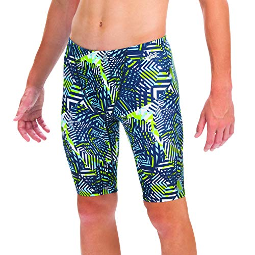 Dolfin Uglies Men's Jammer Compression Swim Trunks (Matrix, 38)