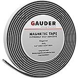 GAUDER Nastro Magnetico Autoadesivo | Banda Magnetica con Extra Forte Adesivo | Striscia Calamita