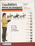 ,Equitation, Manuel de l'enseignant (Support pédagogique) Galops 1 à 7 Cheval et poney - Amphora - 01/01/2004