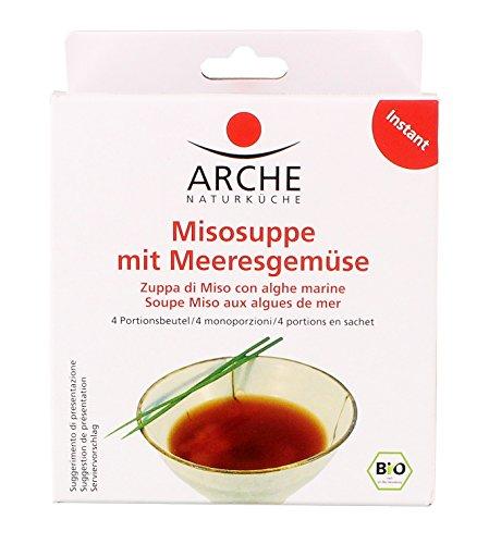 Arche Bio Misosuppe mit Meeresgemüse, 4x15 g