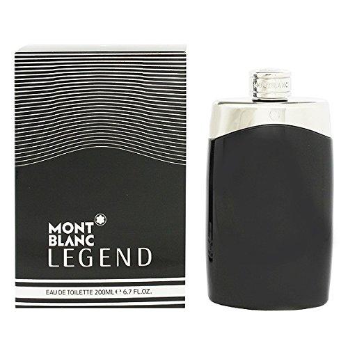 Mont Blanc Legend Mont Blanc-Parfum Herren Eau de Toilette, 200 ml, MREE-636