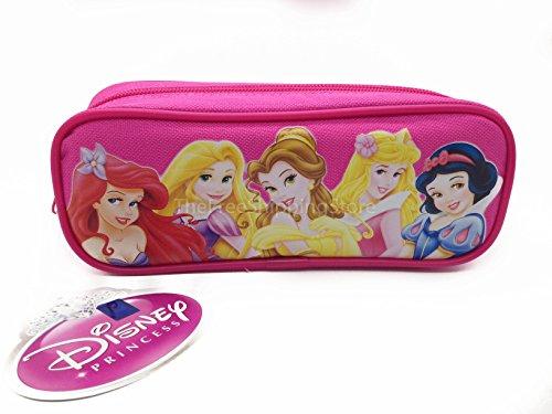 Princesses Pencil Case - Dark Pink