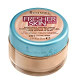 Rimmel London Fresher Skin Base de Maquillaje Tono 201 Classic Beige - 104 gr