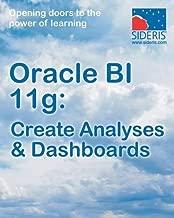 Oracle Bi 11g: Create Analyses & Dashboards