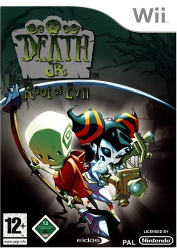 Death Jr . Root of Evil [ Wii - Edizione GER/NET/FRA ]