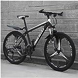 Xin Hai Yuan 21 Geschwindigkeit 26 Zoll Männer Mountain Bikes, High-Carbon Stahl Hardtail Mountainbike, Berg Fahrrad mit Federung vorne Verstellbarer Sitz,