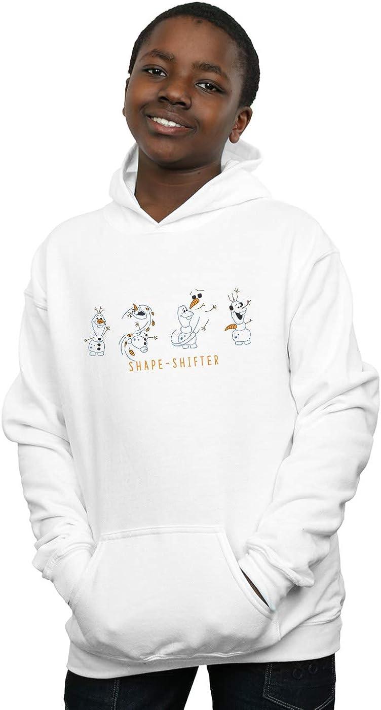 Disney Boys Frozen 2 Olaf Shape-Shifter Hoodie White 5-6 Years