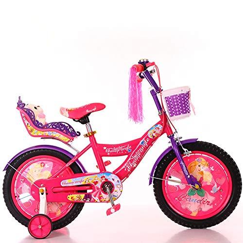 WGXQY Mountainbike voor kinderen van 3 tot 9 jaar, 12 inch (16 inch), geschikt voor kinderen van 3 tot 9 jaar, sportfiets in de open lucht, het beste kerstcadeau