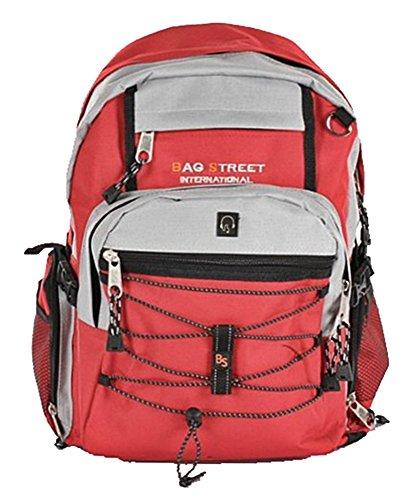 Rucksack Alltag Rucksack, City Rucksack, Backpack Bag Laptoprucksack Nylon Rot