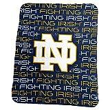 Logo Brands NCAA Notre Dame Fighting Irish Classic Fleece, One Size