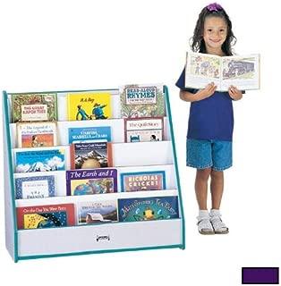 Jonti-Craft FLUSHBACK PICK-a-BOOK STAND - 1 SIDED - PURPLE FULLY ASSEMBLED