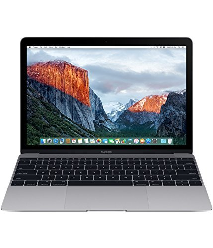 "Apple MacBook 12"", Intel m3 1,1 GHz, 256 GB SSD, 8 GB RAM, space grau (Generalüberholt)"