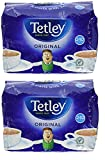 Tetley Schwarzer Tee 240 Btl. [Pack of 2] [FREE- 100 SUGAR SACHETS]