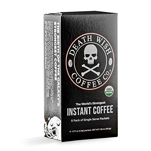 DEATH WISH COFFEE Instant...