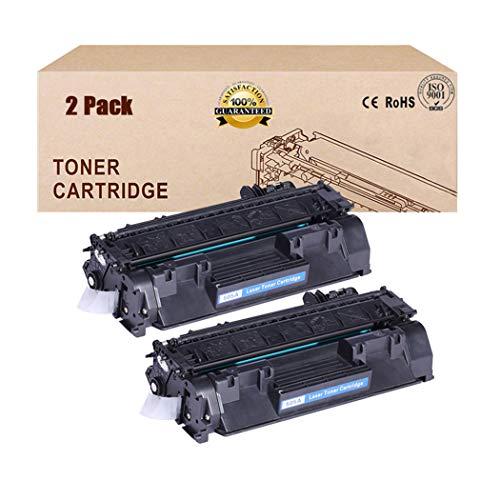 2 Pack-Compatible Toner Cartridges Vervanging voor HP 05A CE505A Toner Cartridge voor HP LASERJET P2030 P2035 P2035N P2050 2055 2055DN P2055 P2055D P2055DN Toner Zwart