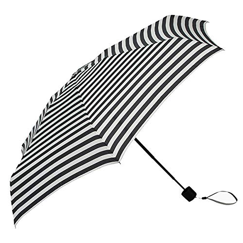 Marimekko - Regenschirm - Tasaraita - Weiß-Schwarz