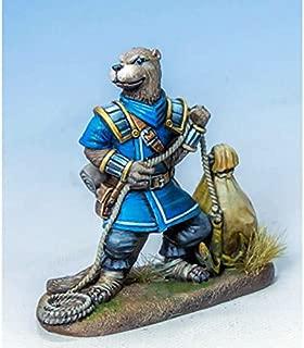 Otter Roque With Loot Miniature Critter Kingdoms Dark Sword Miniatures