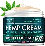 Рain Relief Hemp Cream - Made in USA - Natural Hemp Extract Cream for Back & Muscle Рain Relief - Efficient Inflammation Cream & Carpal Tunnel Relief - Good for Skin Health