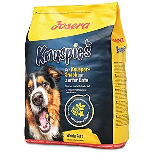 Josera Knuspies mit Ente schmackhafte Hundeleckerlis mit geringem Fettgehalt, 1er Pack (1 x 900 g)