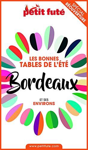 Couverture du livre BONNES TABLES BORDEAUX 2020 Petit Futé