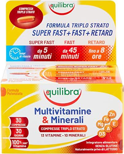 Equilibra Integratori Alimentari, Multivitamine & Minerali,...