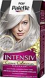 SCHWARZKOPF POLY PALETTE Intensiv Creme Coloration, Haarfarbe U71 Kühles Silbergrau, 3er Pack (3 x...