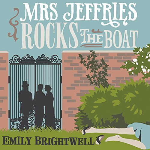 Mrs Jeffries Rocks the Boat cover art