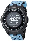 [エプソン] 腕時計 リスタブルジーピーエス GPSランニングウォッチ 脈拍計測 J-300T ターコイズブルー