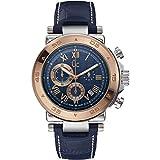 Guess Reloj Cronógrafo para Hombre de Cuarzo con Correa en Cuero X90015G7S