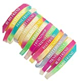 Avanti Creation Printed Multicolor Rubber Friendship Band for Girls and Boys Friendship Belt