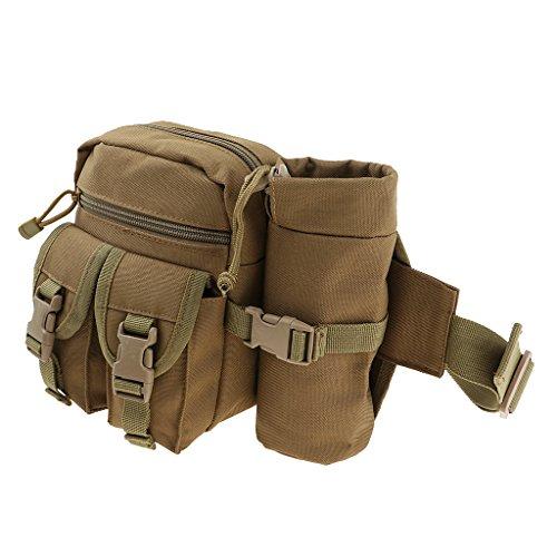 Sharplace Sac Portable Multifonctionnel étanche Stockage Tour de Taille épaule Package pour la pêche randonnée d'escalade - #1, comme décrit