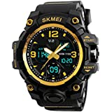Men's Analog Digital 50M Water...