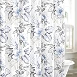 Tommy Bahama Casablanca Garden Shower Curtain, 72x72, Grey