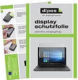 dipos I 2X Schutzfolie matt kompatibel mit HP 250 G6 15.6 Zoll Folie Bildschirmschutzfolie