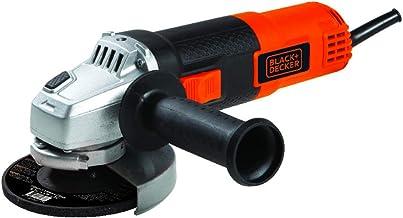BLACK+DECKER Kit Esmerilhadeira de 4 1/2 Pol. (114mm) 820W 11.000 RPM com Maleta e 12 Discos 220V G720K12