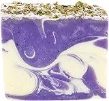 Greendoor handgesiedete Naturseife Eisenkraut-Lavendel, milde umweltfreundliche Seife vegan 100g aus...