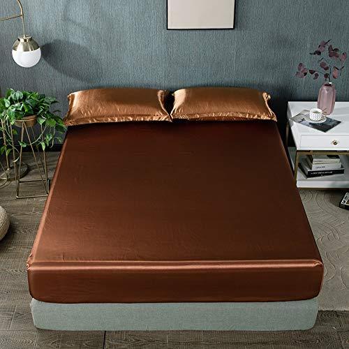 Bolo Sábanas de polialgodón para cama individual, doble, King y Super King (150 x 200 cm)