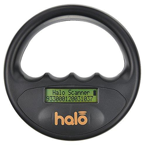MICRO-ID Halo Pet Microchip Reader Scanner, Black