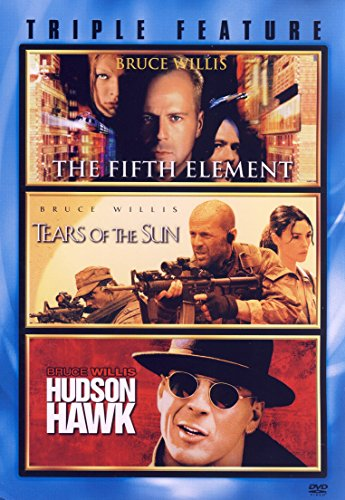 Bruce Willis Triple feature (The Fifth Element / Tears of the Sun / Hudson Hawk)