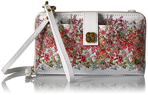Elliott Lucca Theo Large Smartphone Crossbody, White Bouquet