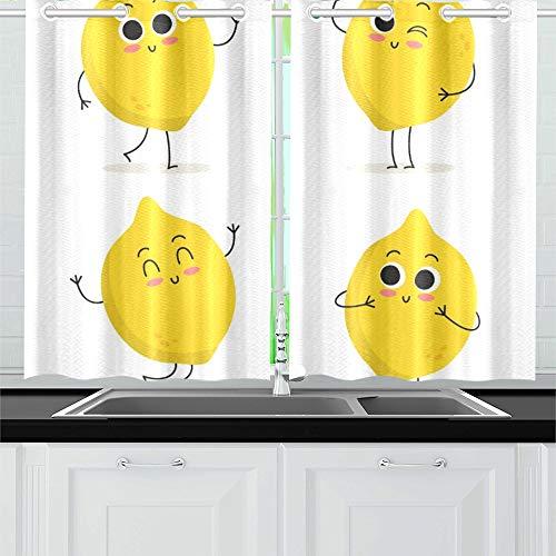 cortinas cocina limones