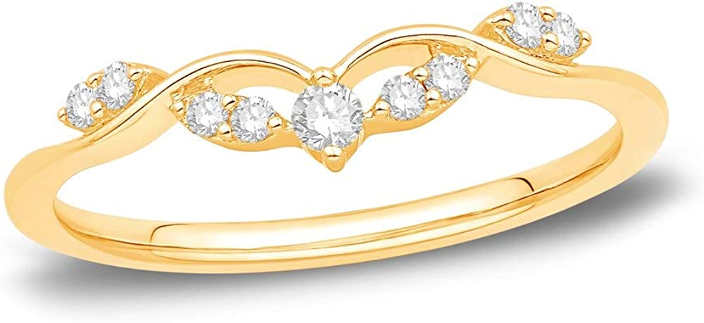 Jewelry Star 14K Yellow Gold Plated Round in Charlotte Mall Silver Cubic Max 48% OFF Zi Cut