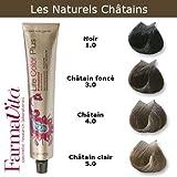 Coloration cheveux FarmaVita - Tons Naturels Châtains Châtain naturel 4.0