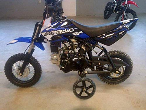 APOLLO New Youth Fully Automatic DB25-70cc Dirt Bike w/Training Wheels