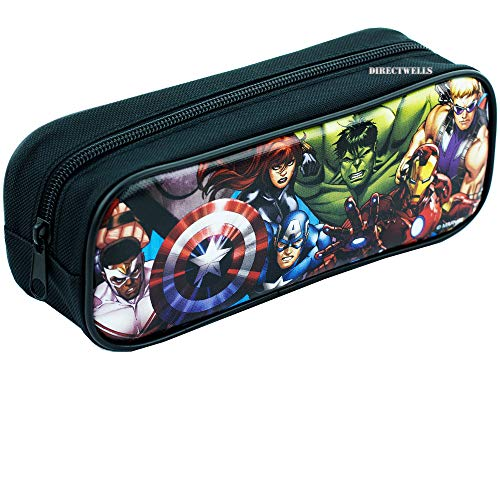 Avengers Black Pencil Case