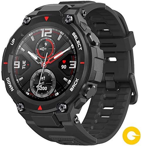 Amazfit T-Rex Reloj Smartwatch Deportivo - 20 Días Batería, 12 Certificados Militares,...