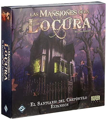Fantasy Flight Games - Las mansiones de la Locura: El Santuario del Crepusculo - Castellano