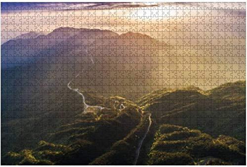 Rompecabezas Antiguas viviendas de China para niños y adultos Juego educativo Rompecabezas Juguetes DIY, 500 piezas 52 * 38 cm